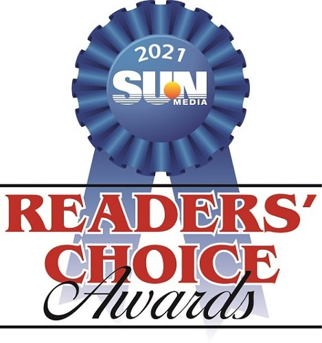 Sun Media Readers Choice Award 2021